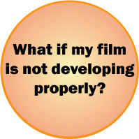 what if film not developing properly